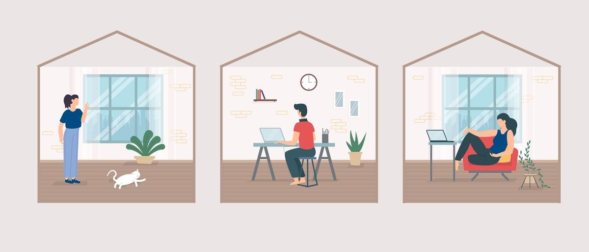 Home-Office in Corona-Zeiten: Eine Einschätzung aus Sicht des Arbeitsschutzes